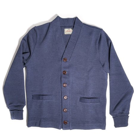 Dehen Classic Wool Cardigan Sweater - Centennial