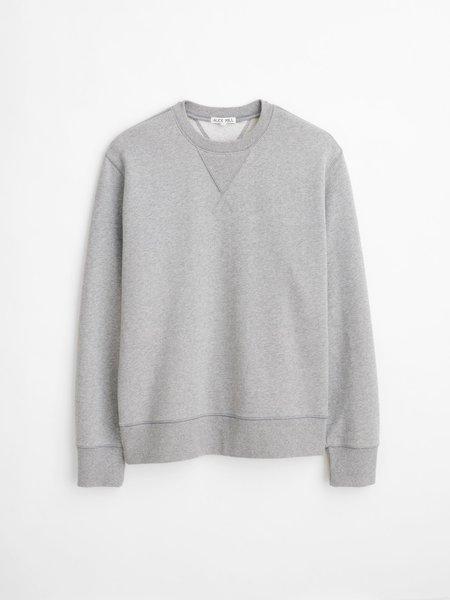 Alex Mill Garment Dyed Crewneck - Heather Grey