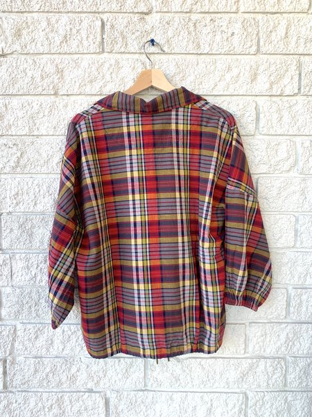 The Great. THE JOURNEY PULLOVER - BLUEGRASS PLAID
