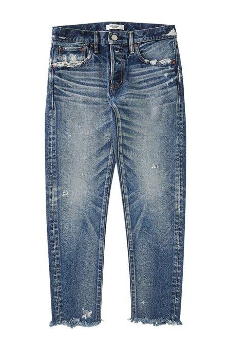 MOUSSY MV Keller Tapered Jeans - Dark Blue