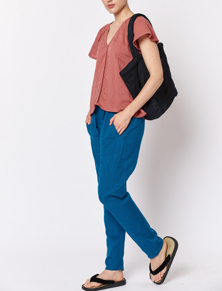 Built by Wendy Boxer Pants - Blue