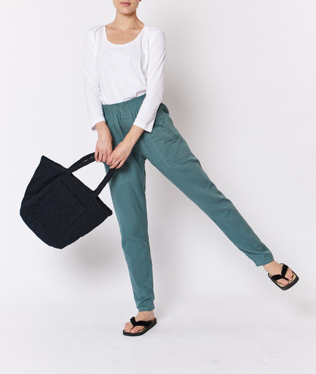 Built by Wendy Boxer Pants - Sage