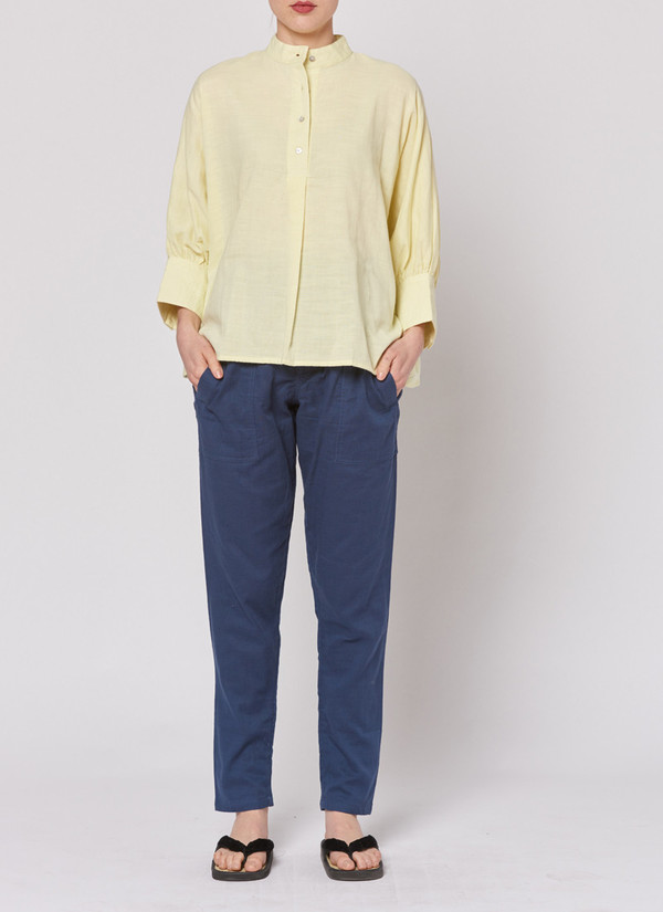 Built by Wendy Everyday Shirt - Lemon