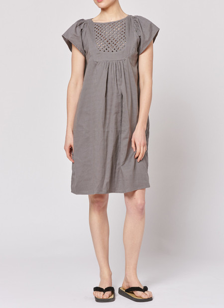 Built by Wendy Lattice Dress - Grey