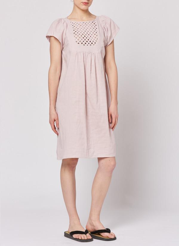 Built by Wendy Lattice Dress - Primrose