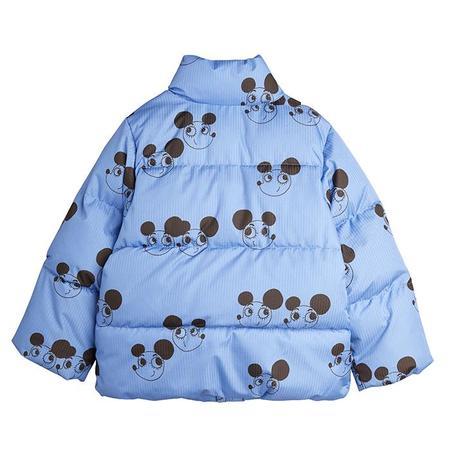 Kids Mini Rodini Baby And Child Ritzratz City Puffer Jacket - Blue