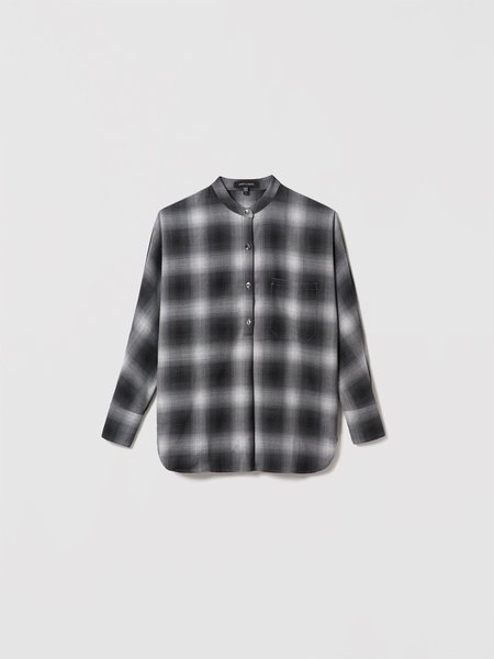 Judith & Charles Winslow Blouse - Grey Check