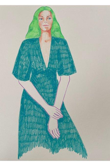 Rosie Kanellis Friend Series #14 ART