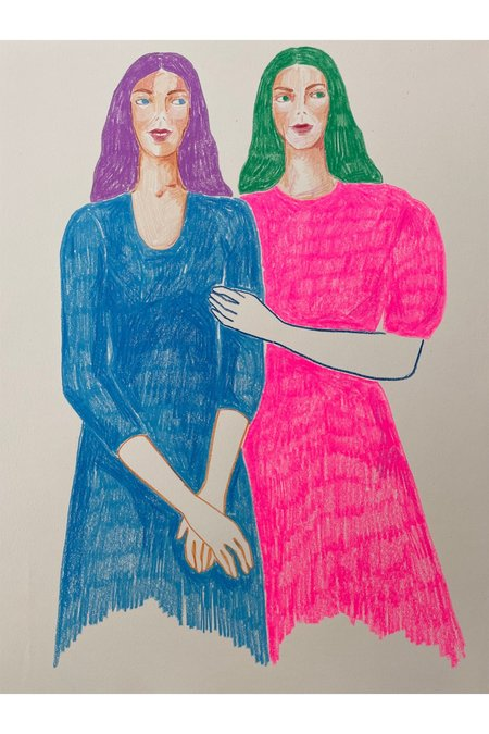 Rosie Kanellis Friend Series #17 art