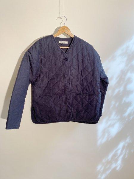 Micaela Greg Cross Quilt Jacket