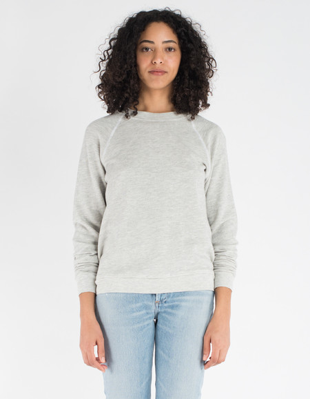 Lacausa Favorite Sweatshirt Heather Grey