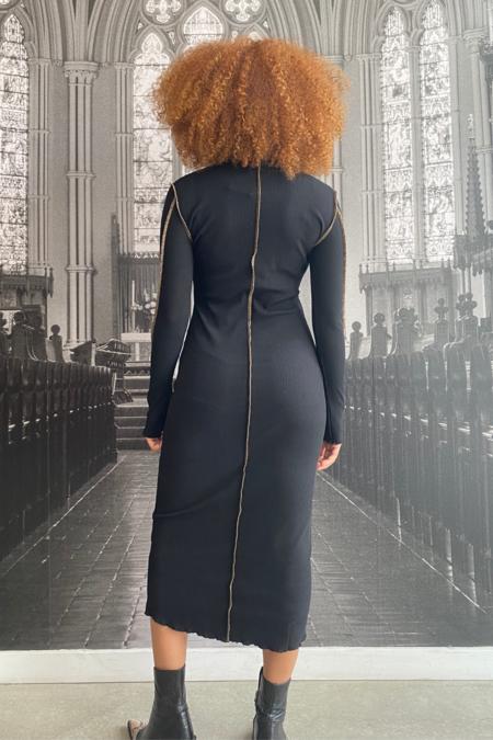 Just Female Fox Dress - Black