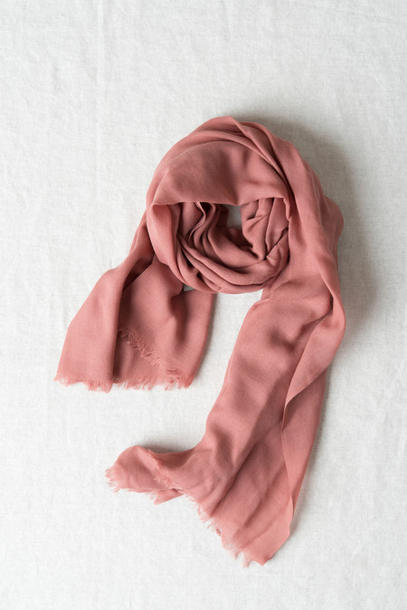 Hope Big Scarf In Old Pink