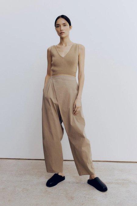 Mónica Cordera Cotton Crossed Pants - Nomad