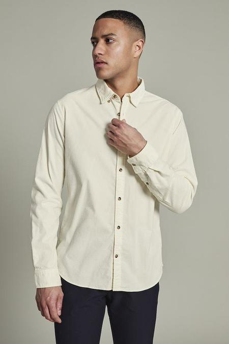 MATINIQUE Trostol Corduroy Shirt - Vanilla Ice