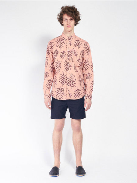 Schnayderman Leisure Garden Print Shirt