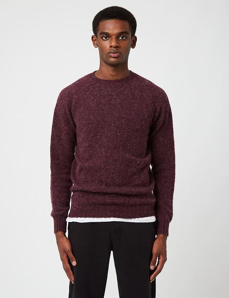 Bhode Supersoft Lambswool Jumper sweater - Purple
