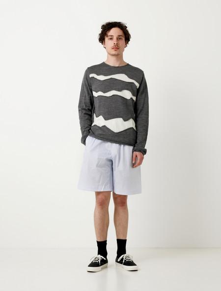 Comme des Garçons SHIRT Loose Shorts Stripe