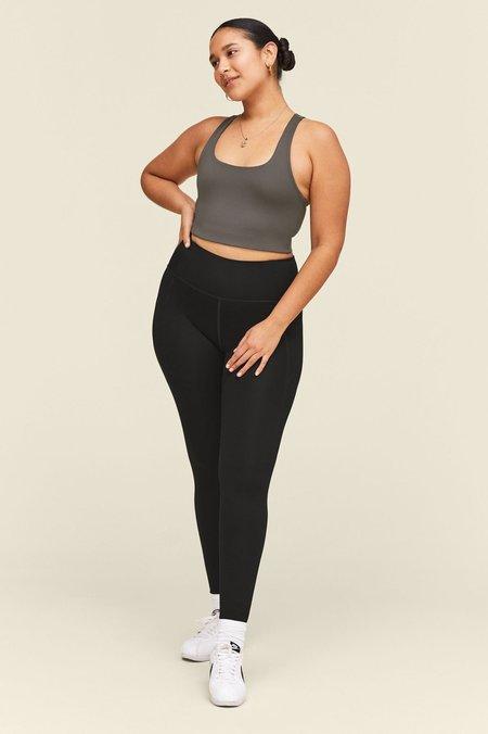 Girlfriend Collective Compressive High-Rise Pocket Legging - Black