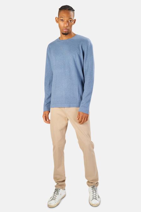 Blue&Cream Reade Long Sleeve T-Shirt - Waterfront