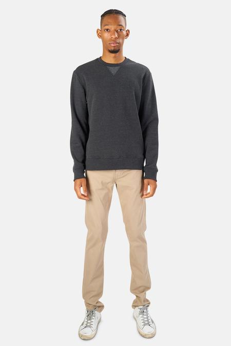 Blue&Cream Mont Blanc Crewneck Sweater - Charcoal Heather