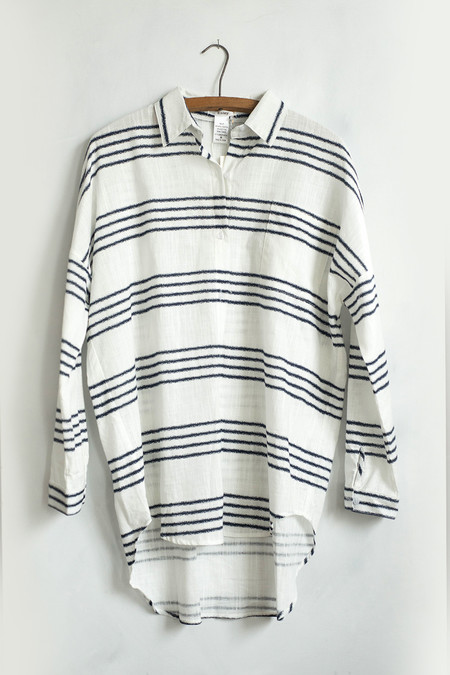 Sunday Supply Co. Striped Button Down