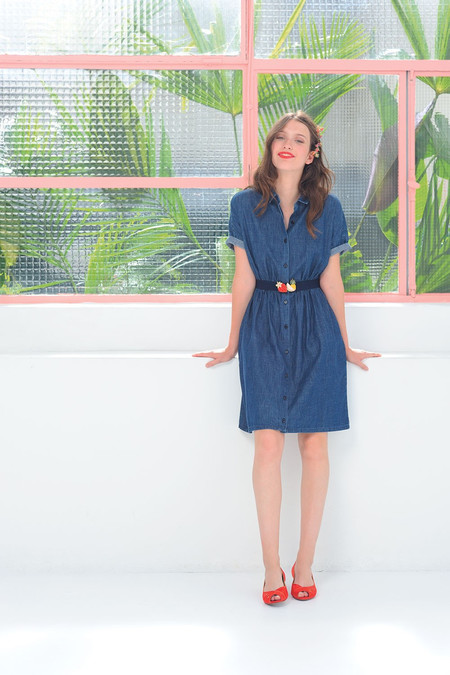 Des Petits Hauts | Louisiane Denim Dress