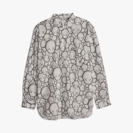 COMME des GARÇONS SHIRT x KAWS Button Up Shirt - Print