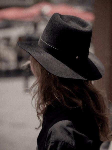 Janessa Leoné Luca Fedora - Black