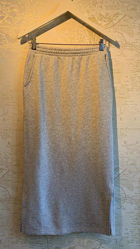 The Upside Satya Elm Midi Skirt - Gray