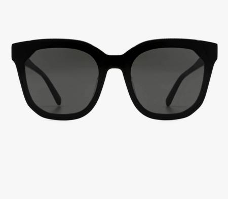 DIFF Gia Shades Sunglasses - Black/Gray