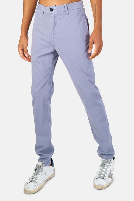 Kato Axe Slim Denit Chino Pants - Blue