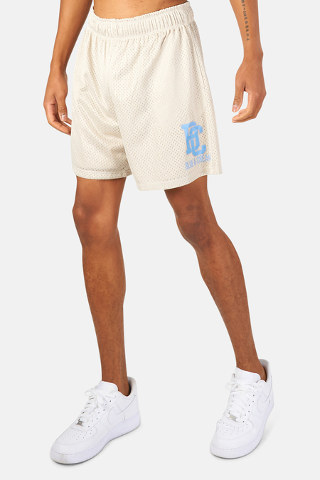 Blue&Cream New York Mesh Shorts - Taupe/Provence Blue