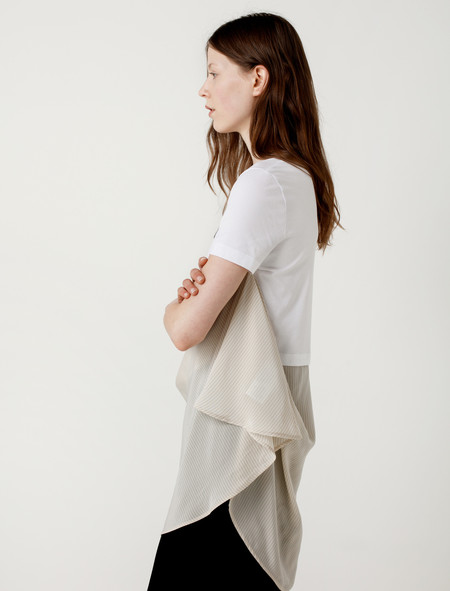 MM6 by Maison Margiela ANNIV Tee with Skirt Rubber / Olive