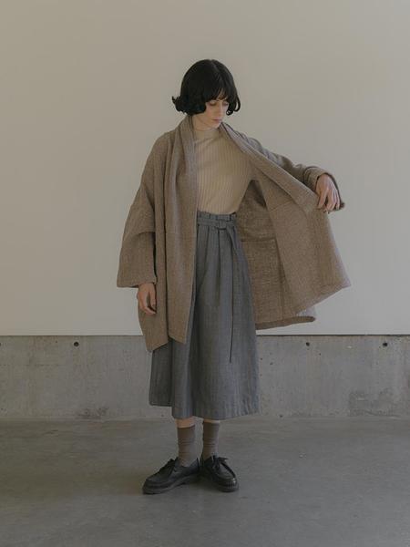 Atelier Delphine Haori Coat - Herringbone
