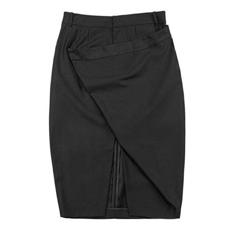 Vincetta Black Cantilever Skirt