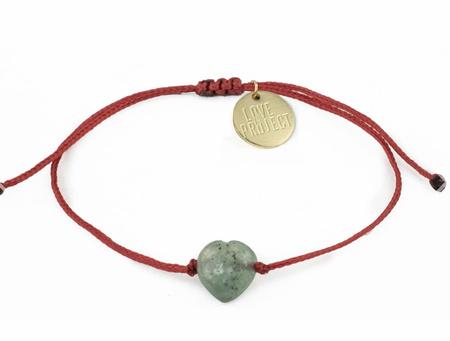 Love Project Heart Bracelet - Jade