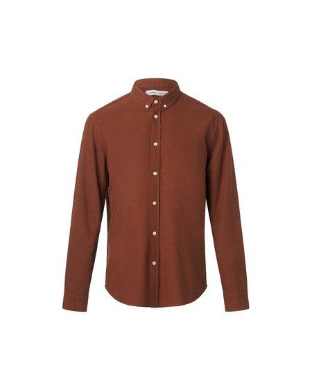 Samsøe & Samsøe Camisa Liam BX 11389 shirt - Cherry Mahogany