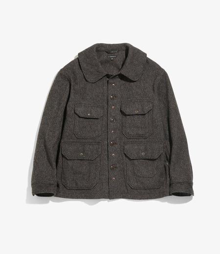 Engineered Garments Cruiser Jacket - Brown Tri Blend Tweed