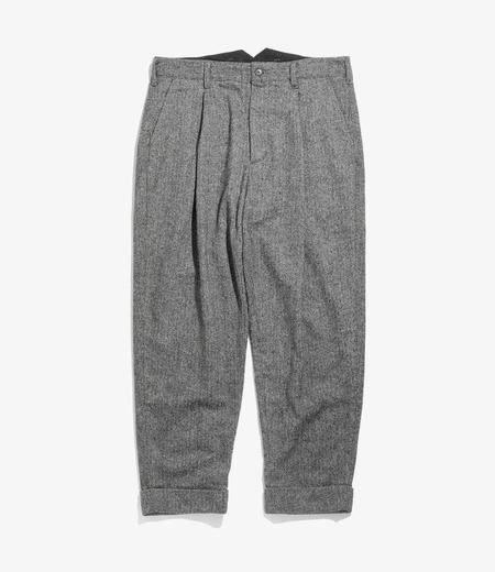 Engineered Garments WP Pant - Grey Poly Wool Herringbone