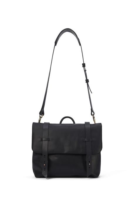 Lowell Black Nappa Leather