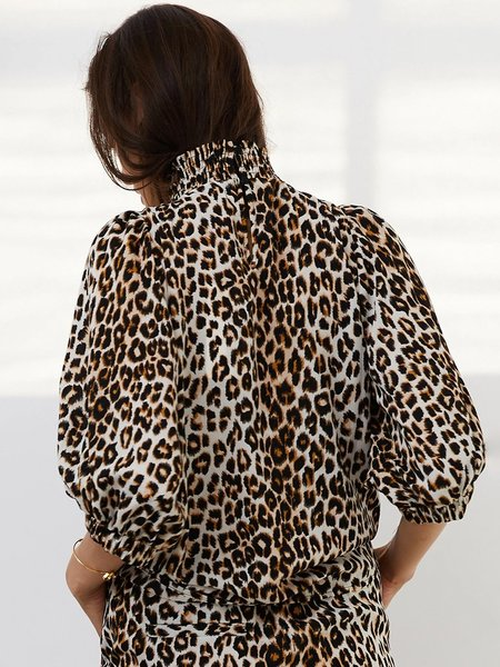 Lolly's Laundry Bobby Top - Leopard
