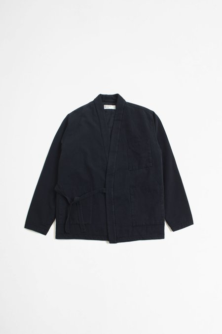 Universal Works Insulated Kyoto Work Jacket - Deep Blue