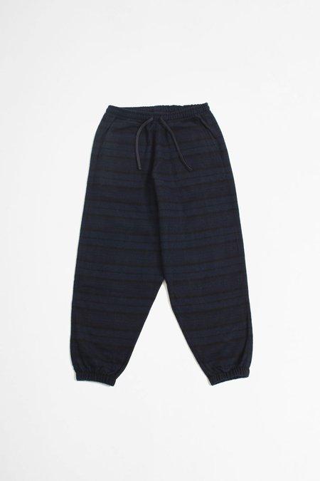 Universal Works Cotton/Wool Twill Lumber Pant - Navy