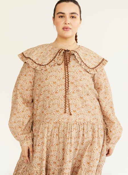 Eliza Faulkner Sawyer Dress - Beige Floral