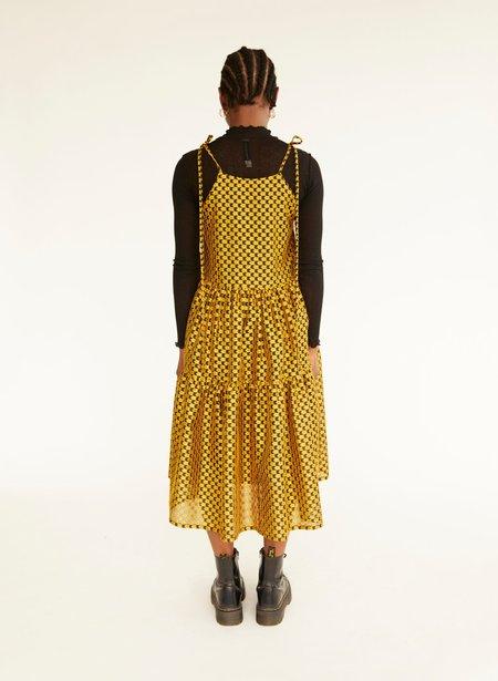Eliza Faulkner Cece Dress - Gold Daisy