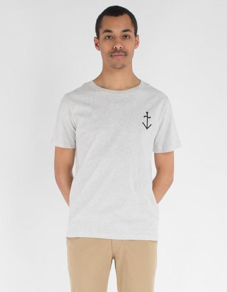 La Paz Dantas T-Shirt Grey Navy Logo