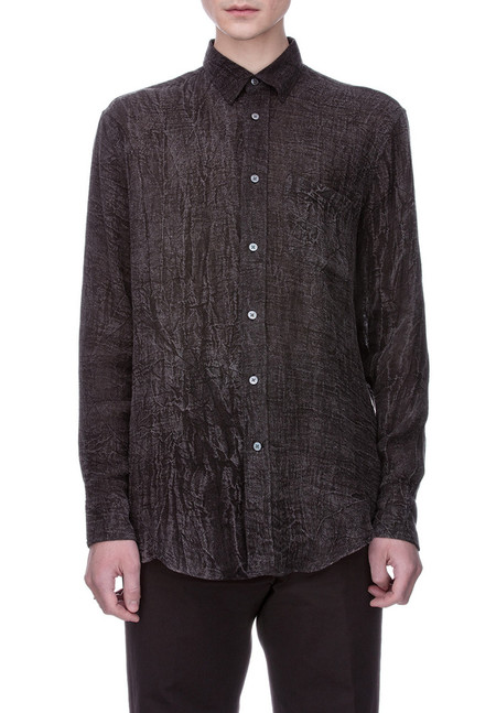 Our Legacy Generation Shirt - Distressed Charcoal Linen