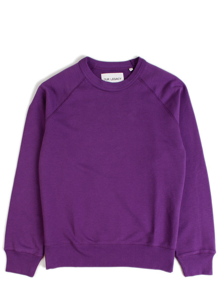 Our Legacy 50's Great Sweat Purple