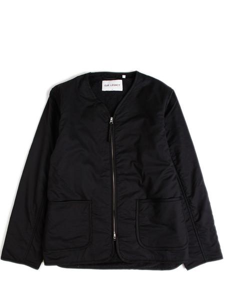 Our Legacy Liner Jacket Black Voil